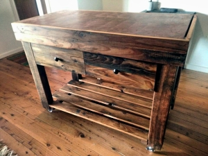 End Grain Recycled Timber Butchers Block