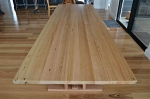 Recycled Messmate Barn Style Dining Table with Criss-cross Legs