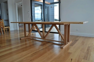 Recycled Messmate Barn Style Dining Table